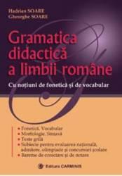 Gramatica didactica a limbii romane - Hadrian Soare Gheorghe Soare title=Gramatica didactica a limbii romane - Hadrian Soare Gheorghe Soare