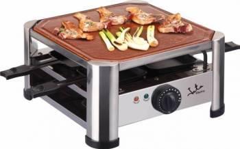 Gratar electric Jata Terracotta Grill + Racleta cu 4 elemente Gratare electrice