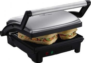 Sandwich-Maker cu plita Russell Hobbs 17888-56 1800 W Negru Gratare electrice