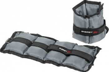 Greutati pentru maini si picioare 2x1kg Energy Fit Accesorii fitness