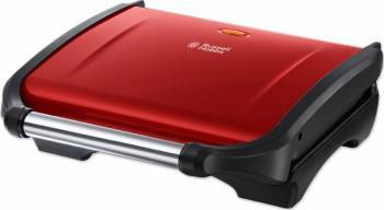 Grill electric Russell Hobbs Flame Red 19921-56 1800W Indicator luminos Negru-Rosu