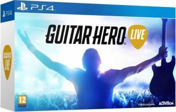 Guitar Hero Live Bundle Joc + Chitara - Ps4