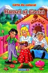 Hansel si Gretel B5 - Carte de colorat