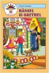 Hansel si Grethel - Fratii Grimm - Carte de colorat Carti