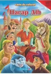 Harap Alb - Carte De Colorat A4
