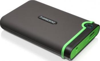 Hard Disk Transcend StoreJet 500GB USB 3.0 2.5inch Hard Disk uri Externe