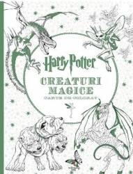 Harry Potter. Creaturi magice - Carte de colorat Carti