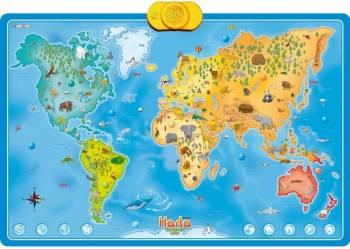 Harta interactiva cu animale Jucarii Interactive