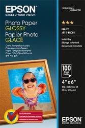 Hartie foto Epson Photo Paper Glossy 10x15cm 100 sheet