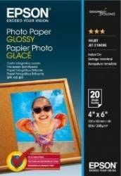 Hartie foto Epson Photo Paper Glossy 10x15cm 20 sheet