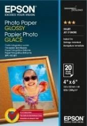 Hartie foto Epson Photo Paper Glossy 10x15cm 20 sheet