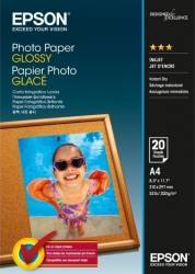 Hartie foto Epson Photo Paper Glossy A4 20 sheet