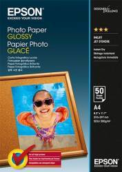 Hartie foto Epson Photo Paper Glossy A4 50 sheets Hartie