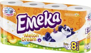 Hartie igienica Emeka Melon Dream 8 role Hartie igienica si Accesorii baie