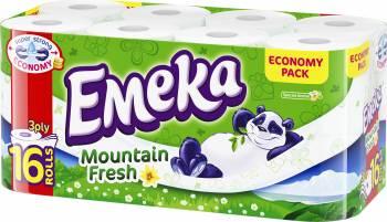 Hartie igienica Emeka Mountain Fresh 16 role Hartie igienica si Accesorii baie