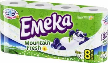 Hartie igienica Emeka Mountain Fresh 8 role