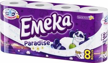 Hartie igienica Emeka Paradise 8 role Hartie igienica si Accesorii baie