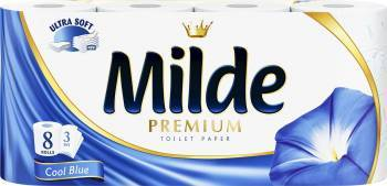 Hartie igienica Milde Ultra Soft - Cool Blue 8 role