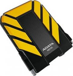 HDD extern ADATA Durable HD710 2TB 2.5 inch USB 3.0 Yellow