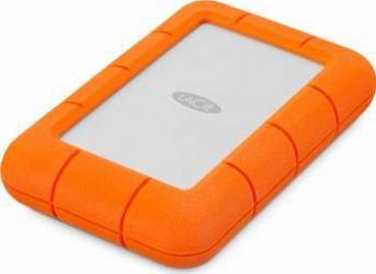HDD extern LaCie Rugged Mini 4TB USB 3.0 2.5inch portocaliu Hard Disk uri Externe