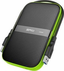 HDD Extern Silicon Power Armor A60 1TB USB 3.0 2.5inch Negru-Verde Hard Disk uri Externe