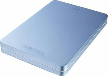 HDD Extern Toshiba Canvio ALU 500GB USB 3.0 2.5 inch Metallic Blue