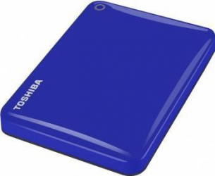 HDD Extern Toshiba Canvio Connect II 3TB USB 3.0 2.5 inch Blue