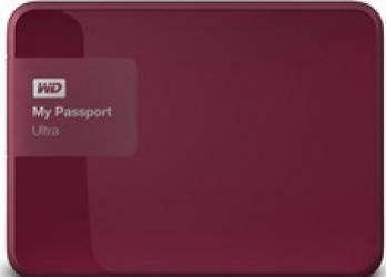 HDD extern Western Digital My Passport Ultra 1TB USB 3.0 2.5inch berry