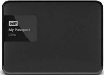 HDD extern Western Digital My Passport Ultra 1TB USB 3.0 2.5inch negru