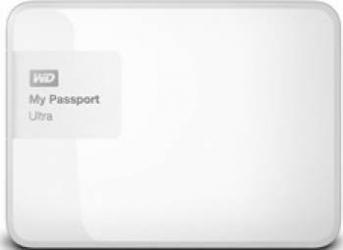 HDD extern Western Digital My Passport Ultra 1TB USB 3.0 2.5inch alb