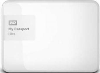 HDD extern Western Digital My Passport Ultra 2TB USB 3.0 2.5inch alb
