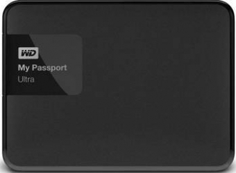 HDD Extern WD My Passport Ultra 4TB USB 3.0 Black