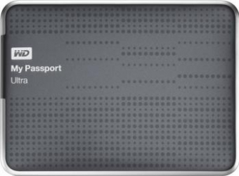HDD extern Western Digital My Passport Ultra 500GB USB 3.0 2.5inch titanium mode