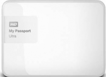 HDD extern Western Digital My Passport Ultra 500GB USB 3.0 2.5inch alb