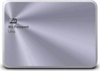 HDD Extern WD My Passport Ultra Metal Edition 1TB USB 3.0 2.5 inch Silver