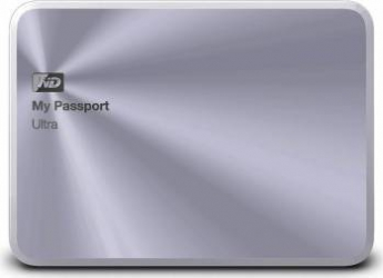 HDD Extern WD My Passport Ultra Metal Edition 2TB USB 3.0 2.5 inch Silver
