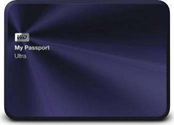 HDD Extern WD My Passport Ultra Metal Edition 4TB USB 3.0 2.5 inch Blue-Black