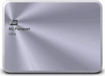 HDD Extern WD My Passport Ultra Metal Edition 4TB USB 3.0 2.5 inch Silver