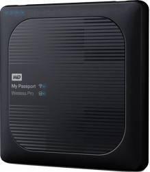 HDD Extern WD My Passport Wireless Pro 2TB USB 3.0 2.5 inch Black Hard Disk-uri Externe