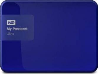 HDD extern Western Digital My Passport Ultra 500GB USB 3.0 2.5inch albastru