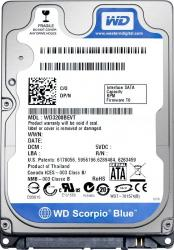 HDD Laptop WD Blue 1TB SATA3 6Gbs 5.4k rpm 8MB 2.5 inch