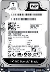 HDD Laptop WD Scorpio Black 500GB 7200RPM 16MB