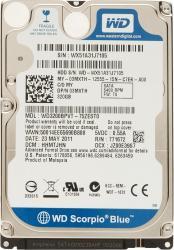 HDD Laptop WD Scorpio Blue 320GB SATA2 5400RPM 8MB