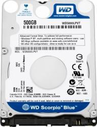 HDD Laptop WD Scorpio Blue 500GB SATA2 5400RPM 8MB
