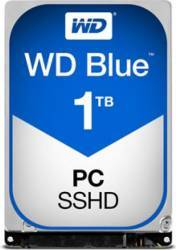 SSHD Notebook Western Digital Blue 1TB SATA 3 64MB 2.5inch