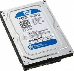 HDD Western Digital Blue 500GB SATA3 32MB 7200rpm Hard Disk-uri