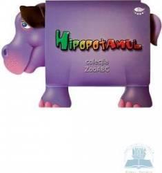 Hipopotamul - ZooABC Carti