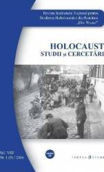 Holocaust Nr.1 2016 Studii si cercetari Carti