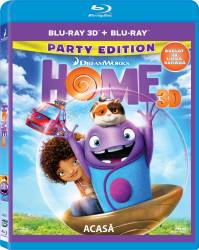 Home BluRay Combo 3D+2D 2015 Filme BluRay 3D