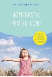 Homeopatia pentru copii - Jacques Boulet